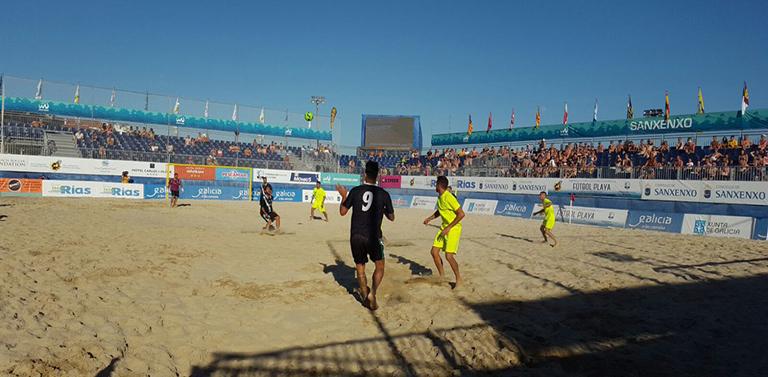 56b6579fb0d4a La Selección Andaluza de Fútbol Playa ha logrado hoy en Sanxenxo su sexto  título de campeón de España absoluto consecutivo