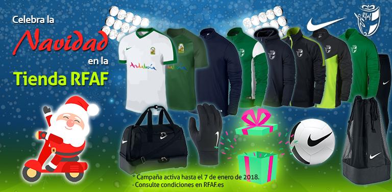 La Tienda Oficial de la Real Federación Andaluza de Fútbol ya le ha dado la  bienvenida a la Navidad y para celebrarlo ha lanzado nuevos productos. daf67f98ca6d1