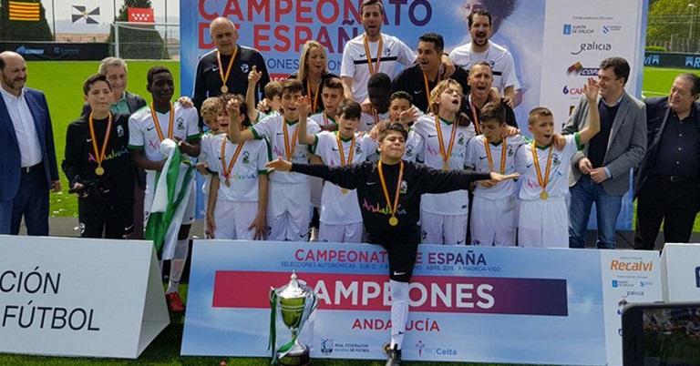 Un hak-trcik de Bakary y el gol de Ibra le dan el oro a Andalucía que  termina invicta en el campeonato ... 36d5a3b4c92cd