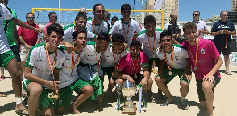Andalucía consigue en Cádiz el subcampeonato de España en la modalidad  juvenil. La selección melillense ha alzado el Campeonato Nacional en la  categoría ... d401dc1585a9b