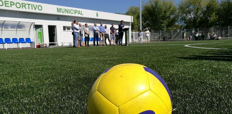 Nueva calle y campo de municipal de fútbol 7 2577f260cec25
